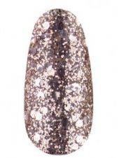 Гель лак № 01 SH (Розовое золото, брокат и глиттер), 12мл, Kodi