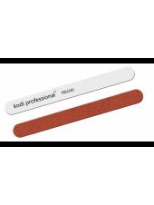 Пилка прямая «Garnet» (цвет: белый/коричневый) 180/240 грит, Kodi